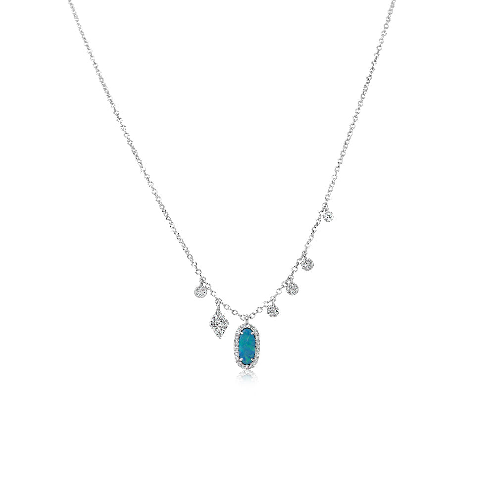 Dainty Opal Signature Necklace
