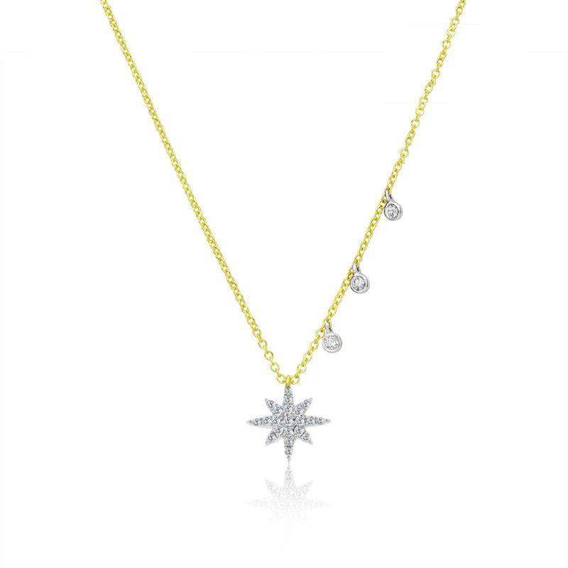 Dainty Starburst Necklace