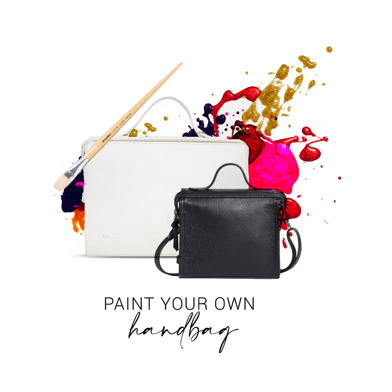 Paint your own Handbag!