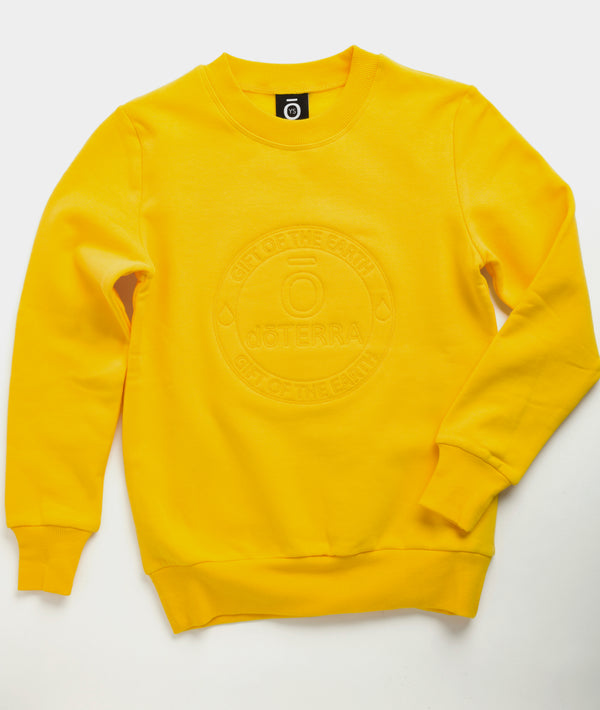 Kid's Mini Crew Pullover - Yellow product image
