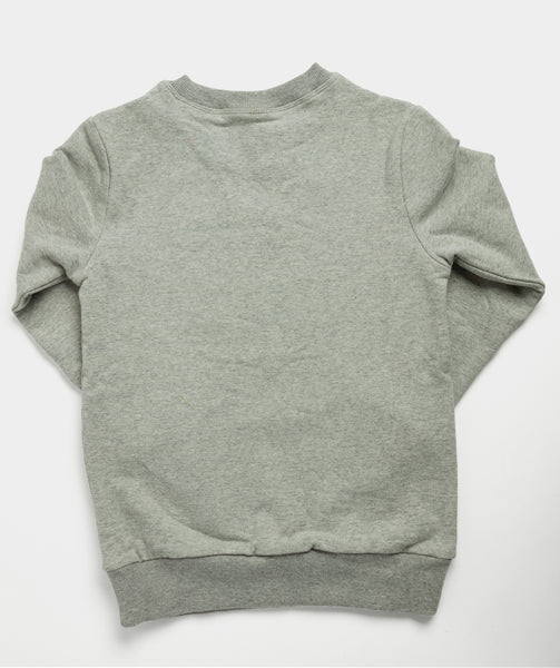 Kid's Mini Crew Pullover - Gray