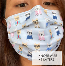 Load image into Gallery viewer, A. Face Mask w/ Nose Wire - Teenager & Adult