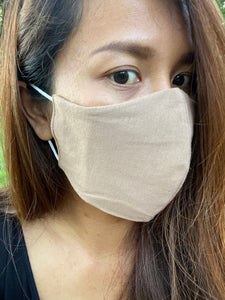 E. Pocket Face Mask - Cotton Jersey