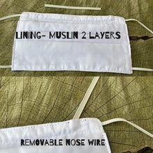 Load image into Gallery viewer, Reusable Nose Wired Printed Face Mask