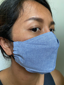 Pocket 4 layers- Cotton face mask