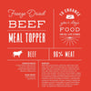 Beef Meal Topper