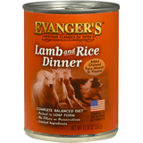 Evanger's Lamb & Rice Canned Food Case