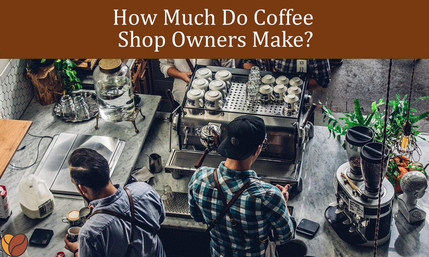 how much do coffee shop owners make