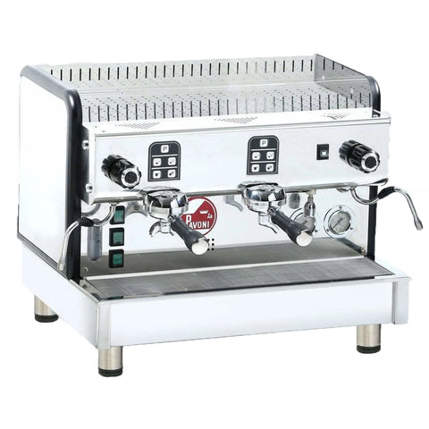La Pavoni 2-Group Cremona Commercial Volumetric Espresso Machine