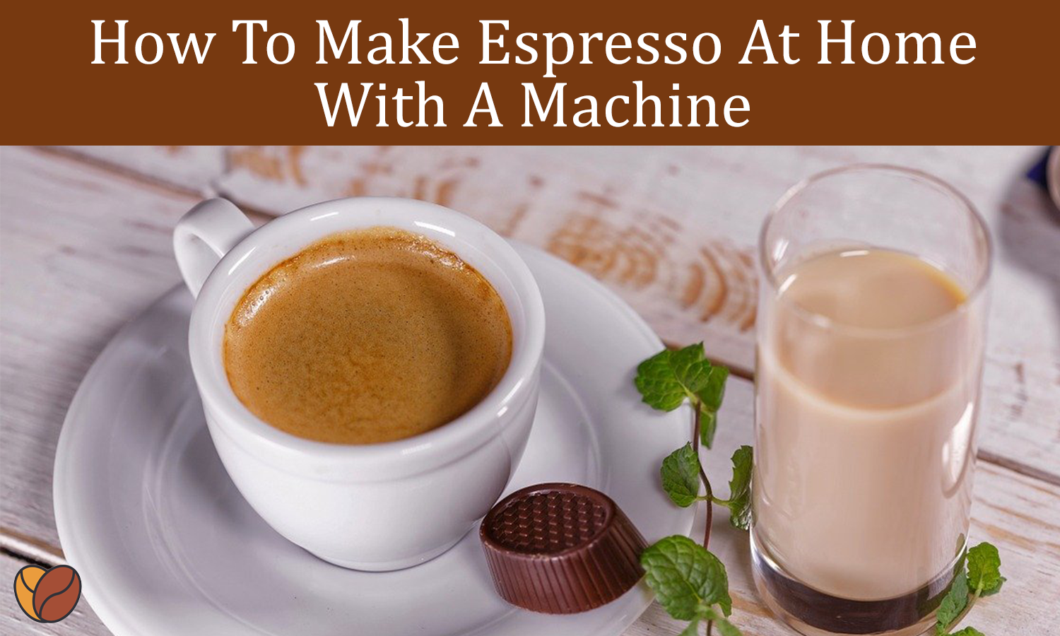 how to make espresso at home with a machine