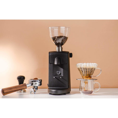 Image of Ascaso Coffee Grinder Ascaso iMini Flat Burr Coffee Grinder Black