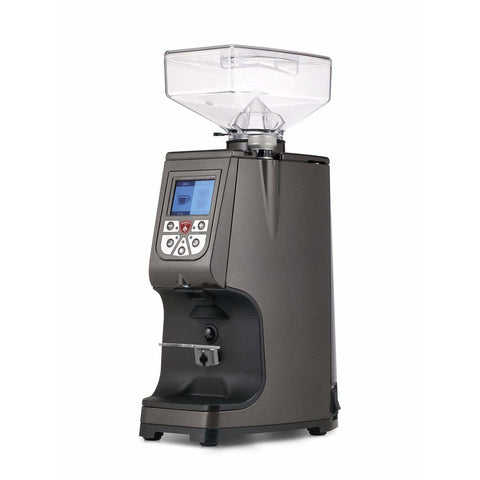 Image of CafeLast Gray Eureka Atom Commercial Coffee Grinder