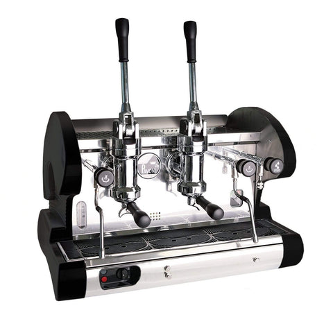 Image of La Pavoni BAR 2L Lever 2-Group Commercial Espresso Machine