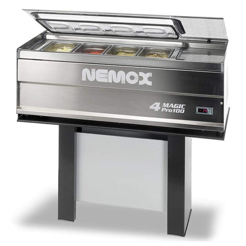 CafeLast Nemox 4-Magic Pro 100 Gelato Display Display Case 36101