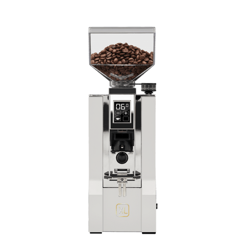 Image of CafeLast White Eureka Oro Mignon XL Coffee Grinder