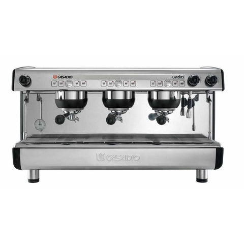 Casadio Espresso Machine Casadio Undici A 3-Group Commercial Espresso Machine