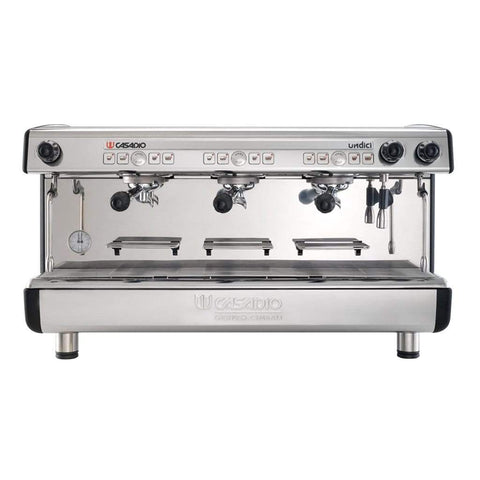Casadio Espresso Machine Casadio Undici A Tall Cup 3 Group Automatic Commercial Espresso Machine