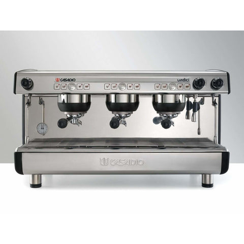 Image of Casadio Espresso Machine (Practice) Casadio Undici A 3-Group Commercial Espresso Machine