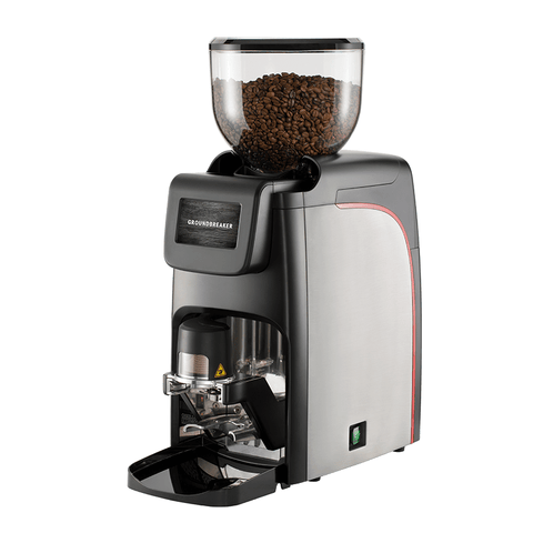Image of Faema Coffee Grinder Faema Groundbreaker with Auto-Tamper Commercial Coffee Grinder