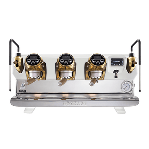 Faema Espresso Machine Faema E71E VIVAIO 3 Buttons 3-Group Commercial Espresso Machine (White)