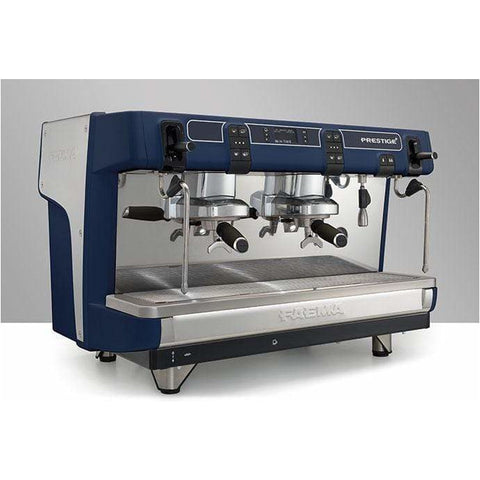 Faema Espresso Machine Faema Prestige+ Tall Cup 2 Group Automatic Commercial Espresso Machine with Autosteam