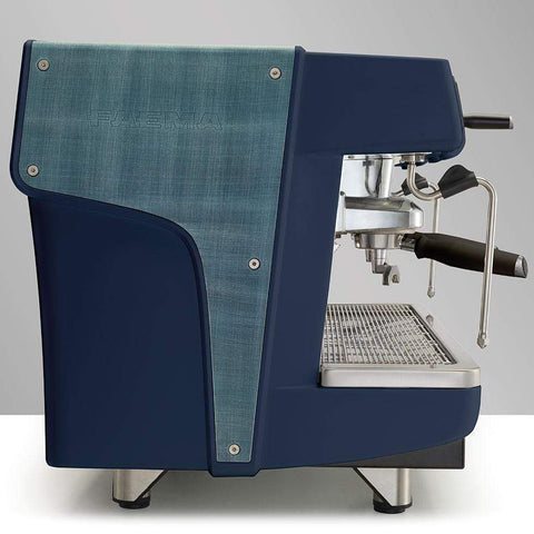Faema Espresso Machine Faema Prestige+ Tall Cup 3 Group Automatic Commercial Espresso Machine with Autosteam