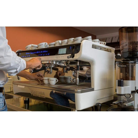 Faema Espresso Machine Faema TEOREMA 2-Group Tall Cup Automatic Commercial Espresso Machine