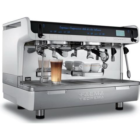 Faema Espresso Machine Faema TEOREMA 2-Group Tall Cup Commercial Espresso Machine
