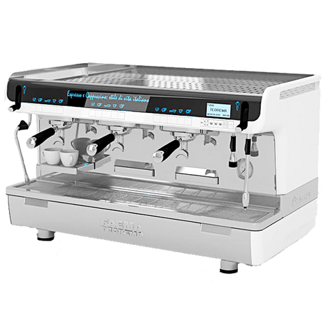 Image of Faema Espresso Machine Faema TEOREMA 3-Group Tall Cup Commercial Espresso Machine