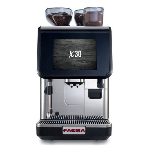 Faema Espresso Machine Faema X30 CS10 Fully Automatic Espresso Machine (MilkPs + Choc)