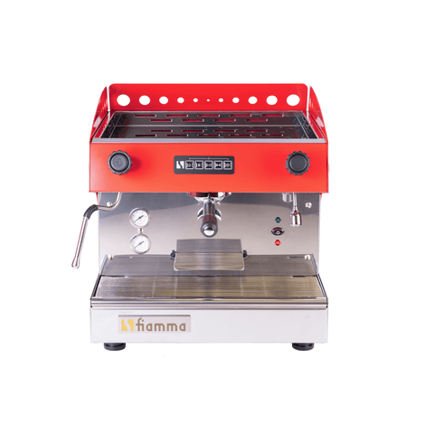 Fiamma Espresso Machine Fiamma Caravel 1 CV 1 Group Volumetric Commercial Espresso Machine