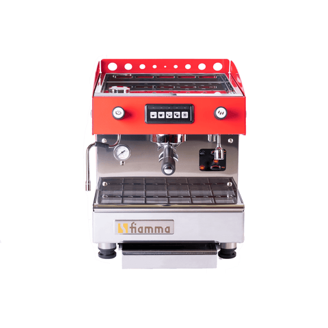 Image of Fiamma Espresso Machine Red Fiamma Marina Espresso Machine MARINA CV DI