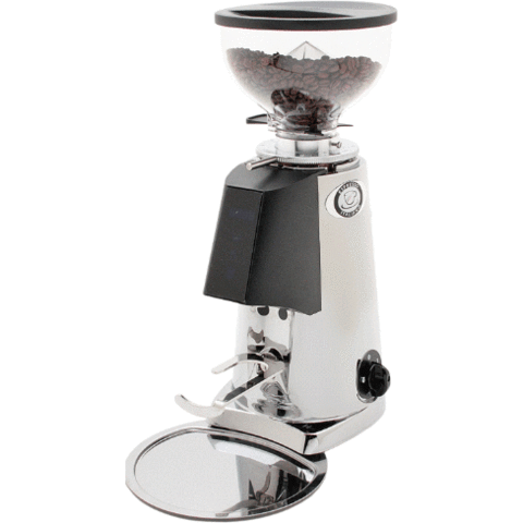 Image of Fiorenzato Coffee Grinder Chrome Fiorenzato F4 Nano V2 Electronic Coffee Grinder