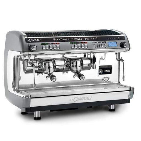 Image of La Cimbali Espresso Machine M39 Dosatron 2-Group with Tall Cup La Cimbali M39 TE DOSATRON 2-Group Commercial Espresso Machine
