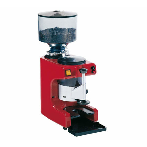 Image of La Pavoni Coffee Grinder Red La Pavoni Zip Commercial Coffee Grinder