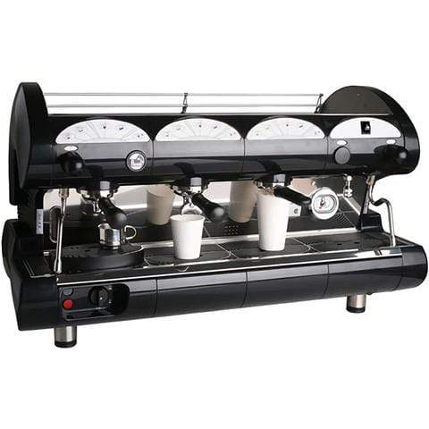 La Pavoni Espresso Machine Black La Pavoni BAR-STAR 3V Volumetric 3-Group Commercial Espresso Machine