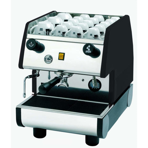 Image of La Pavoni Espresso Machine Black La Pavoni PUB Manual 1 Group Commercial Espresso Machine