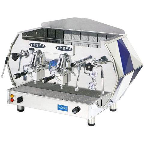 Image of La Pavoni DIAMENTE 2-Group Commercial Volumetric Espresso Machine