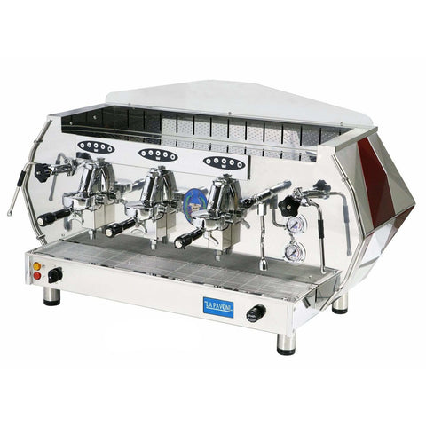 La Pavoni DIAMENTE 3-Group Commercial Volumetric Espresso Machine