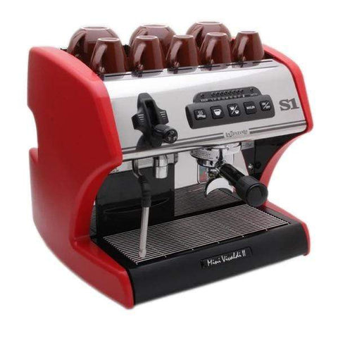 Image of La Spaziale Espresso Machine Red La Spaziale S1 Mini Vivaldi II Espresso Machine