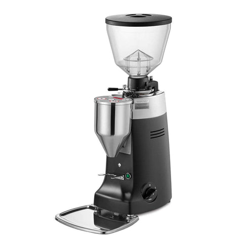 Image of Mazzer Coffee Grinder Black Mazzer Kony Electronic Commercial Coffee Grinder