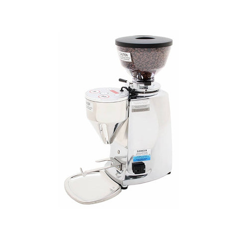 Image of Mazzer Coffee Grinder Polished Mazzer Mini Electronic Coffee Grinder