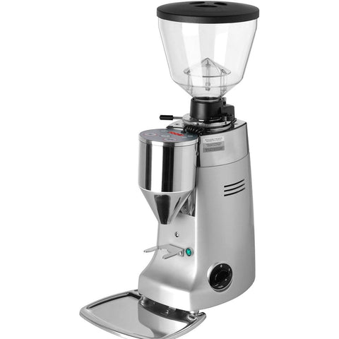 Image of Mazzer Coffee Grinder Silver Mazzer Kony Electronic Commercial Coffee Grinder