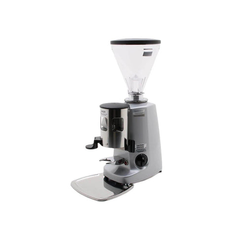 Image of Mazzer Coffee Grinder Silver Mazzer Super Jolly Timer Coffee Grinder Doser