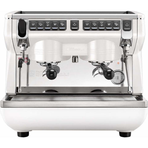 Image of Nuova Simonelli Espresso Machine Nuova Simonelli Appia Life Compact 2 Group Volumetric Commercial Espresso Machine