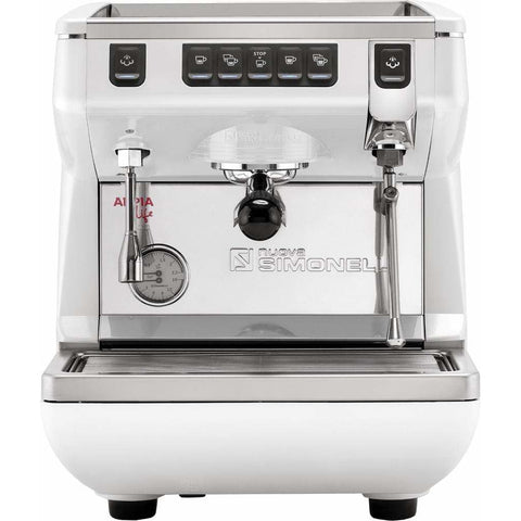 Nuova Simonelli Espresso Machine White / No Autosteam Nuova Simonelli Appia Life 1 Group Volumetric Commercial Espresso Machine