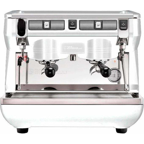 Nuova Simonelli Espresso Machine White Nuova Simonelli Appia Life Compact 2 Group Semi-Automatic Commercial Espresso Machine