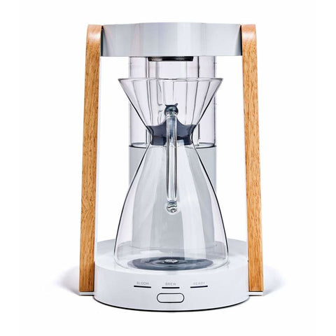 Image of Ratio Coffee Maker White / Parawood / BPA Free Polymer Ratio Eight Home Coffee Maker
