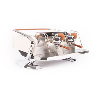 Slayer Espresso Maker Bone Beige Slayer Steam LPx 2-Group Commercial Espresso Machine