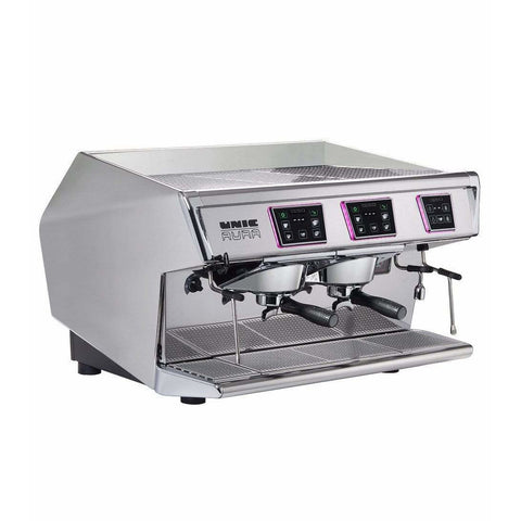Image of Unic Espresso Machine Unic Aura 2 Group Commercial Espresso Machine